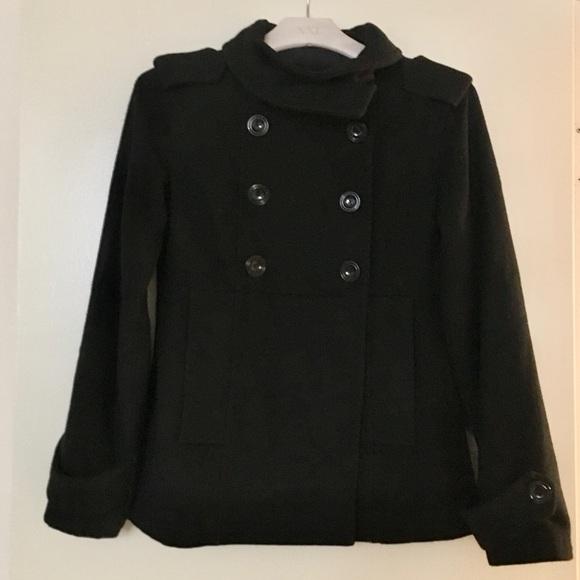 GAP Jackets & Blazers - Black wool peacoat